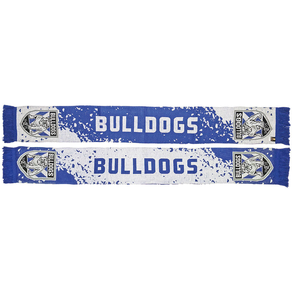 Bulldogs Splash Scarf