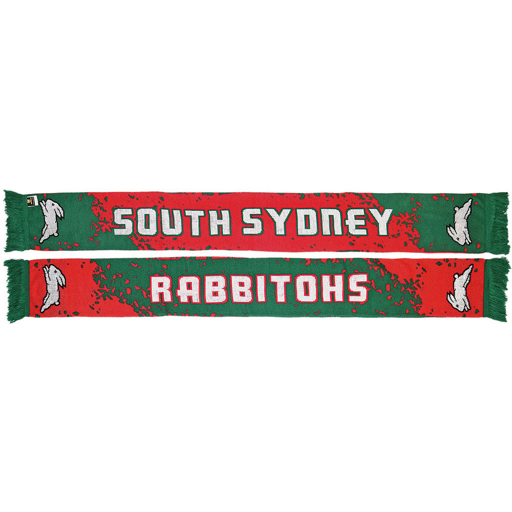 Rabbitohs Splash Scarf
