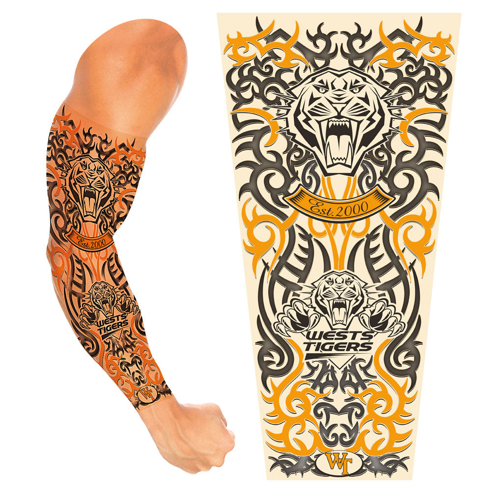 Tigers Adult Tattoo Sleeve