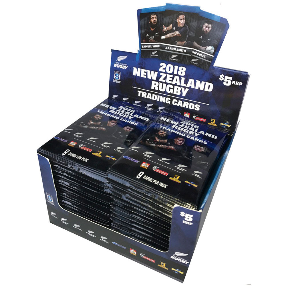 2018 New Zealand Rugby - Box (36 Packets)