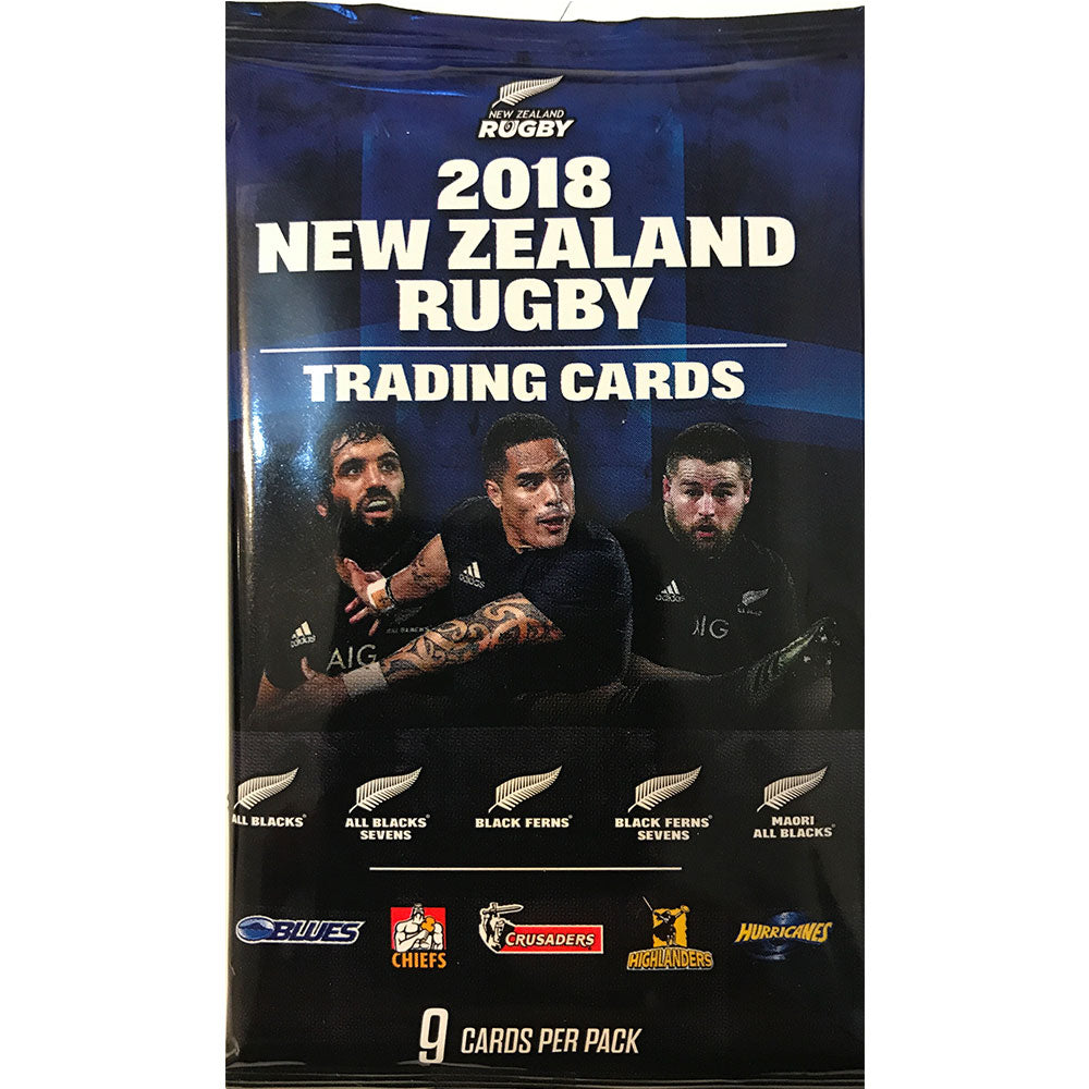 2018 New Zealand Rugby - Packet