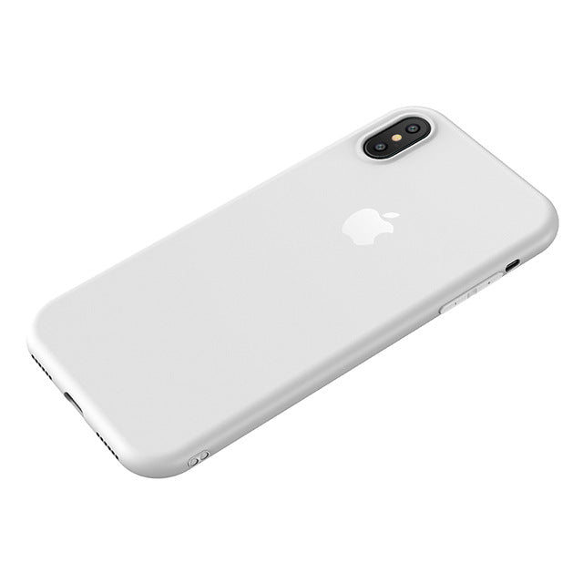 Ultra-Thin 0.6mm Matte iPhone X Anti-Fingerprint Case