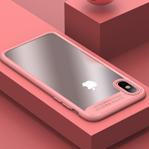 Transparent iPhone X Protective Shell Case