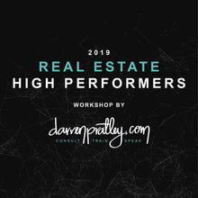 Real Estate High Performers - 3 or more sessions