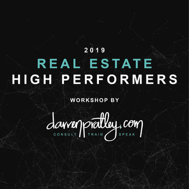 Real Estate High Performers - 10 sessions
