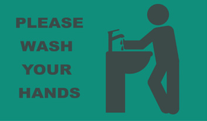 Please Wash Your Hands at Sink