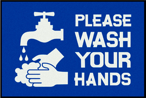 Please Wash Your Hands Water And Soap