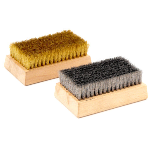 Brushes for Anilox Rollers, Plates - 12 Pack