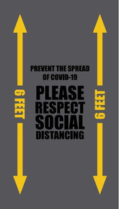 Please Respect Social Distancing