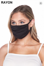 Load image into Gallery viewer, Cloth Face Mask - Black