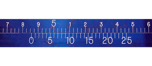Precision Diameter Tape - EZ Read Blue