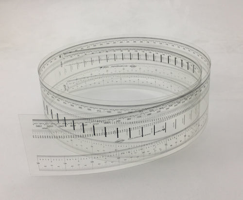 Ultra High Resolution Transparent Ruler