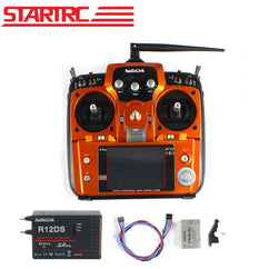 Original RadioLink AT10 II 2.4Ghz 12CH RC Transmitter with R12DS Receiver PRM-01 Voltage Return Module Battery for RC Quadcopter
