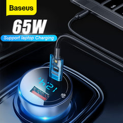 65W USB Phone Charger Quick Charge 4.0 3.0 QC4.0 QC3.0 Type C PD Fast USB Charger For iPhone Xiaomi Mobile Phone