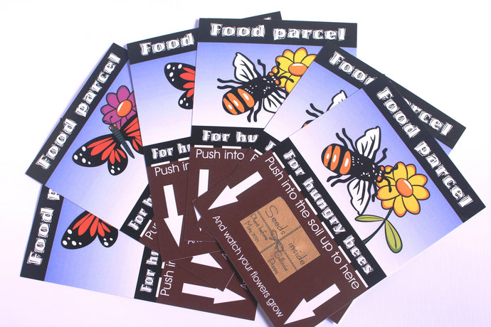 Food Parcel postcard packs