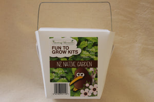 Fun-to-Grow Kits - NZ Native Garden