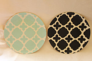 Bamboo side plates