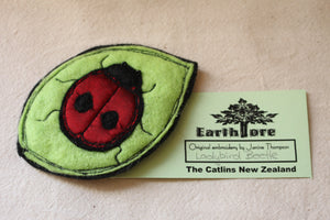 Embroidered Felt Pin