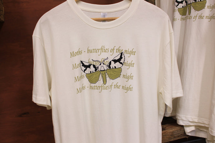 Organic T-Shirt. Butterflies of the Night
