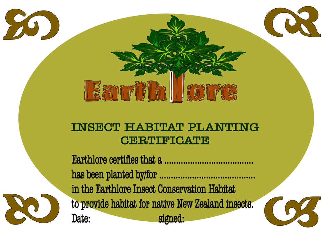 Plant a Tree Certificate