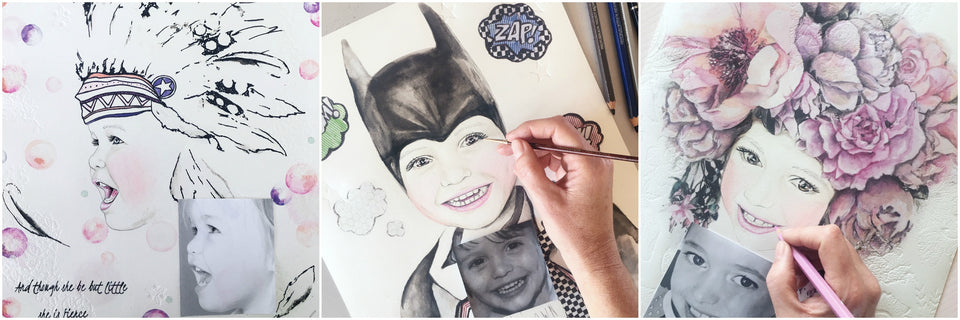 Kids Fine Art Portraits