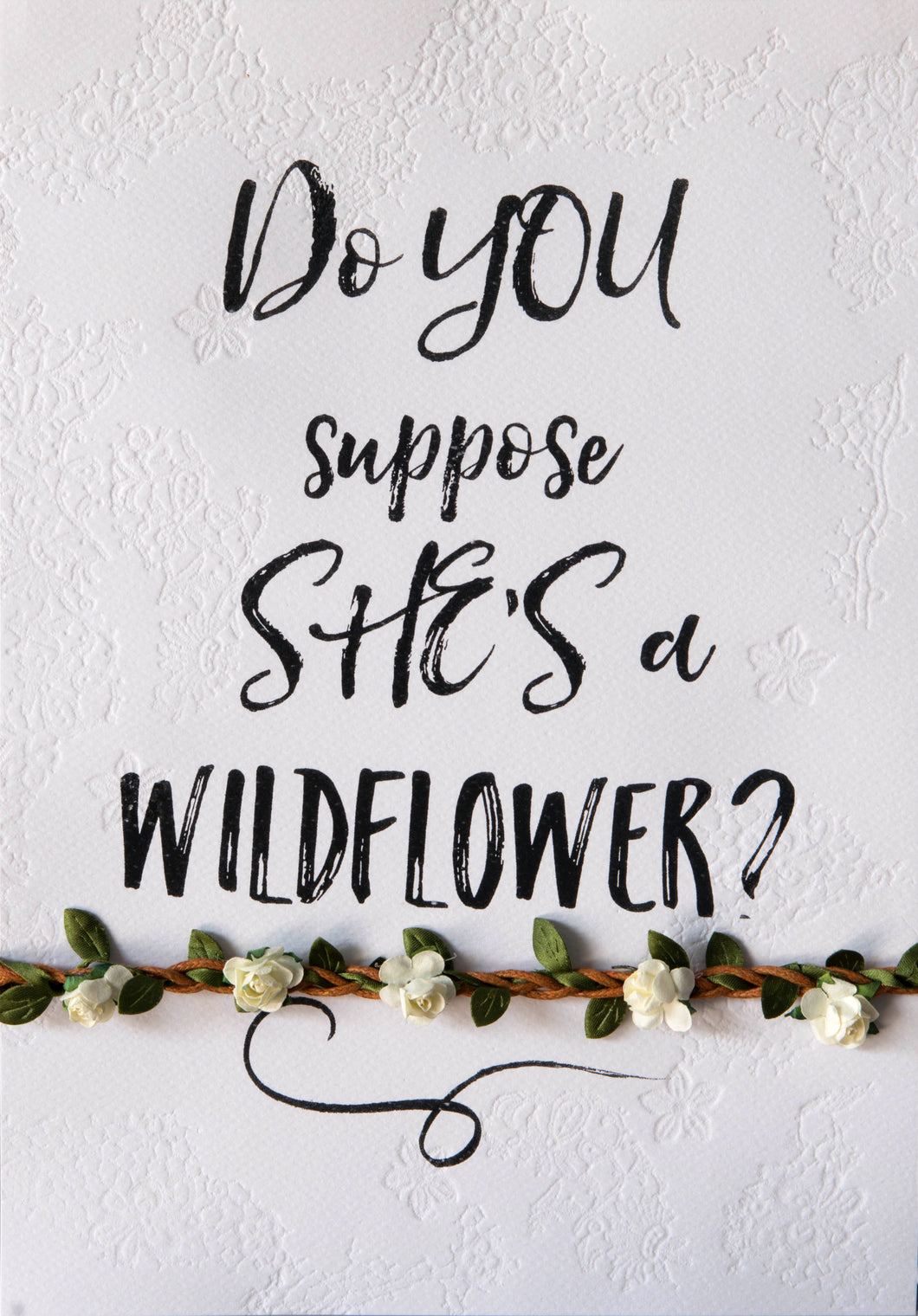 'wildflower' typo
