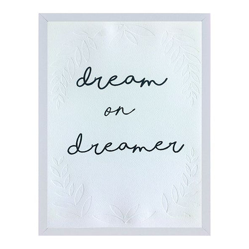 'dream on' typo