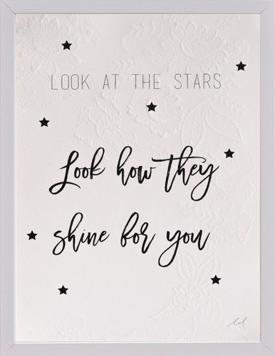 'look at the stars' typo