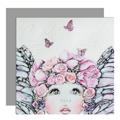 'flutterby' card