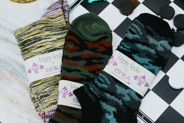 ISHKA Fathers Day gifts - hippie socks