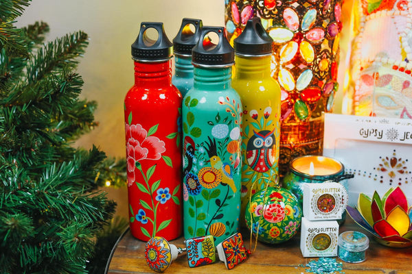 ISHKA water bottles - Colourful Christmas gifts
