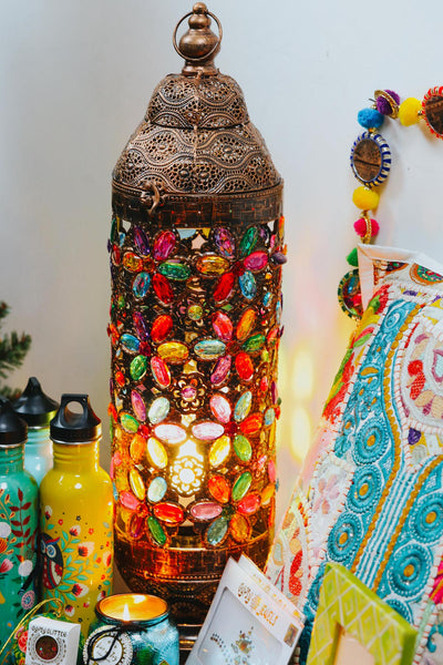 ISHKA beaded lamp - Colourful Christmas gifts