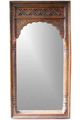 Brown Mehrab Mirror