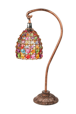 Multicolour Beaded Hook Lamp