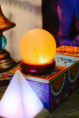 Sphere USB Salt Lamp