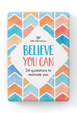 Little Affirmations Box 24 Quotes