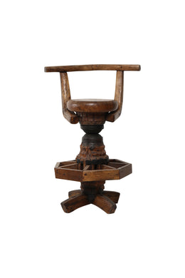 Reclaimed Cart Barstool