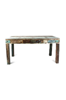 Recycled Timber Dining Table - 6 Seater