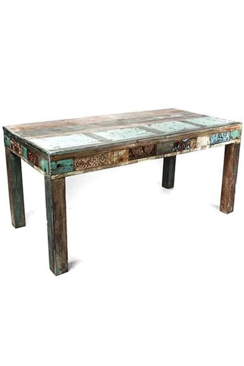 Recycled Timber Dining Table - 8 Seater