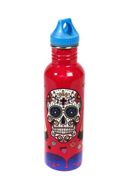 Day of the Dead Stainless Steel Water Bottle