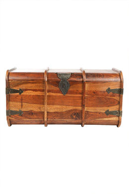 Medium Sheesham Steamer Trunk