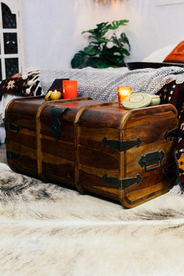 Chest 'Steamer Trunk' Medium 80x43x41cm