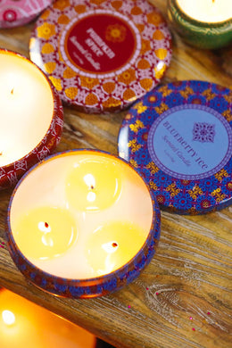 Blueberry Ice Travel Candle