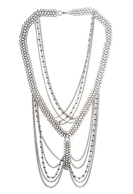 Necklace Mixed Chain Link