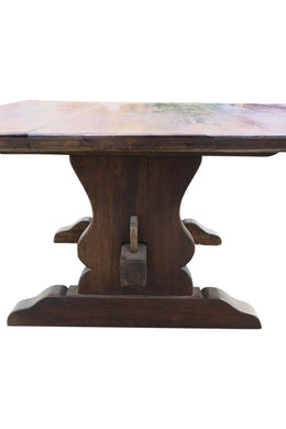 Colombian Oak Refractory Dining Table