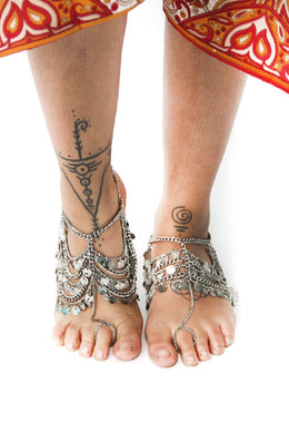 Multi Chain Anklet