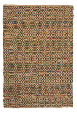 Rug Recycled Silk with Jute 300x400cm