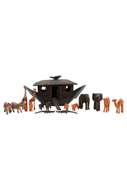 African Noah's Ark Sculpture Set