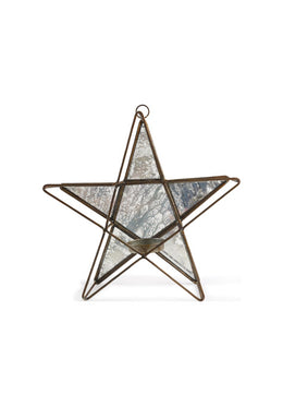 Reflected Star Tealight Candle Holder