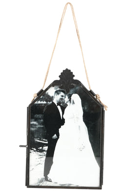 Double-sided Hanging Metal Photo Frame